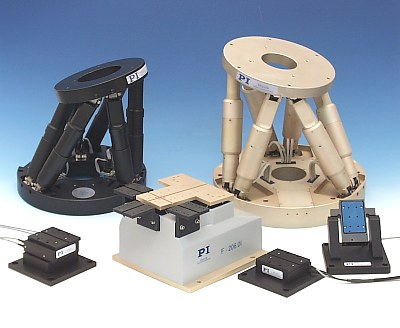 PI Hexapod Six Axes Nanopositioner, Six-Axis Positioning